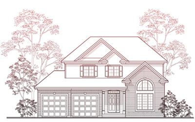 House plans les habitations trillium homes inc for Habitations home plans
